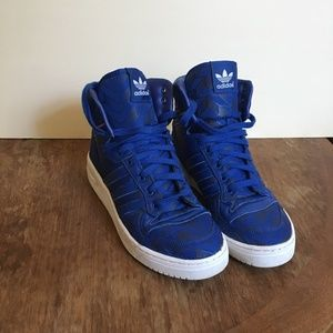 ADIDAS  RIVALRY HIGHTOPS Blue / Orange